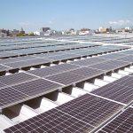 本社社屋太陽光自社発電設備